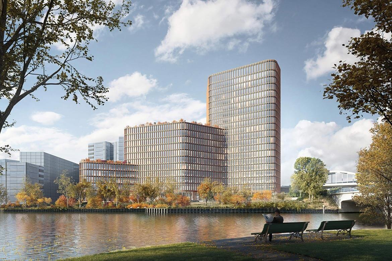 FUTURE WORK ENVIRONMENT FOR DKB DEUTSCHE KREDITBANK, DESIGNED BY GRAFT BRANDLAB